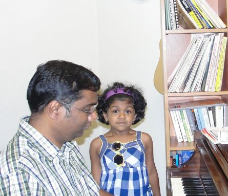 Ivana and Sampath